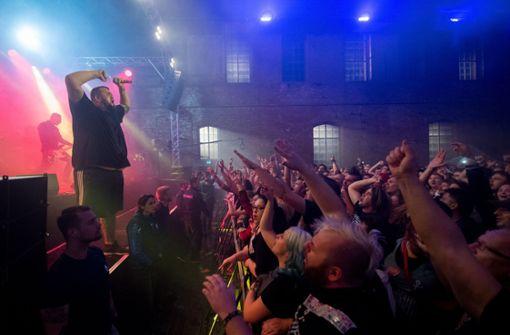 Linke Band spielt in Dessau