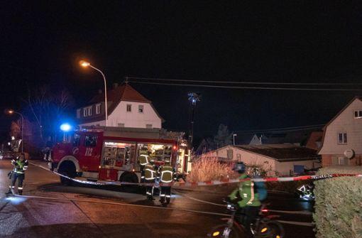 Lagerhalle gerät in Brand – hoher Sachschaden