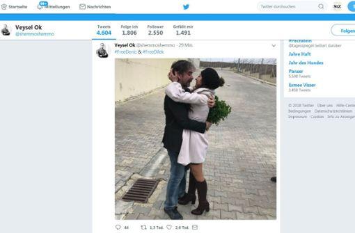 """Freigelassener """"Welt""""-Korrespondent fällt in die Arme seiner Frau"""