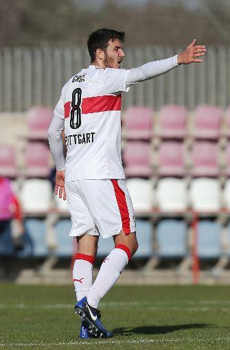 Der VfB konnte das Testspiel gegen Lausanne Sport für sich entscheiden. Foto: Pressefoto Baumann