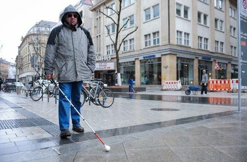 Zukunftsmodell Gefahr für Blinde