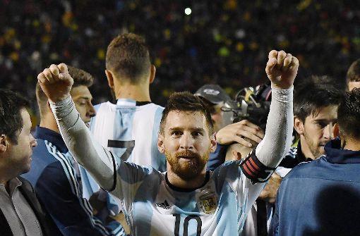 Messi schießt Argentinien zur WM