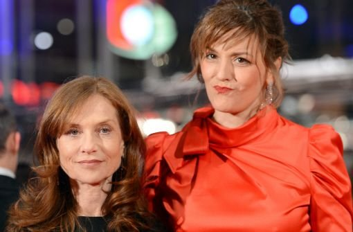 Isabelle Huppert (links) und Martina Gedeck. Foto: dpa