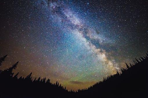 Langzeitbelichtung beim Sternenhimmel