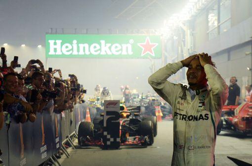 Lewis Hamilton baut Vorsprung auf Vettel aus