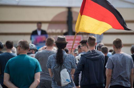 Die Fernsehjournalistin Candan S. wurde auf einer AfD-Kundgebung in Kornwestheim übel angegangen. (Symbolfoto) Foto: dpa