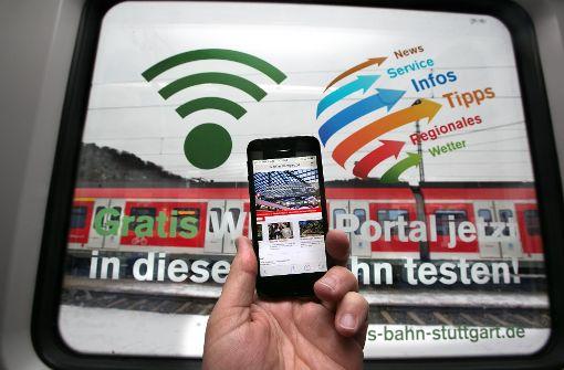 Bahn startet WLAN-Portal in zwei S-Bahnen