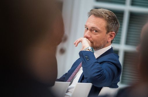 Christian Lindner verliert in der Bevölkerung an Zustimmung. Foto: dpa