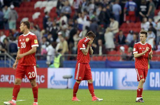 Gastgeber Russland nach Niederlage gegen Mexiko raus