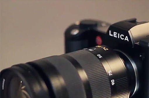 Leica SL - Videoansicht