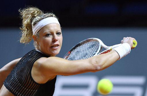 Laura Siegemund steht im Finale und fordert Mladenovic