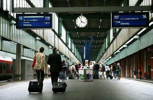 Die Züge werden pünktlicher