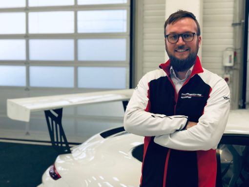 Jan Feldmann; Masterabsolvent am Center for Advanced Studies der DHBW und Projektmanager bei Porsche  Foto: privat