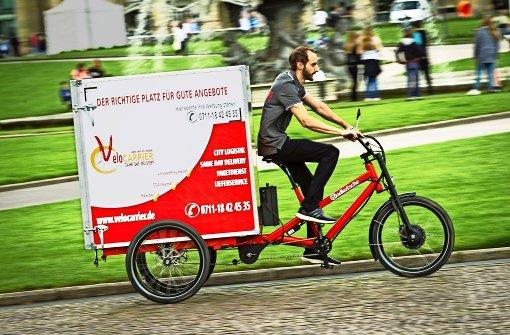 Lastentransport auf zwei und drei Rädern – mit E-Antrieb. Foto: Lichtgut/Leif Piechowski