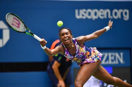 Venus Williams bei US Open raus
