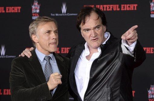 Quentin Tarantino  mit Händen und Füßen verewigt