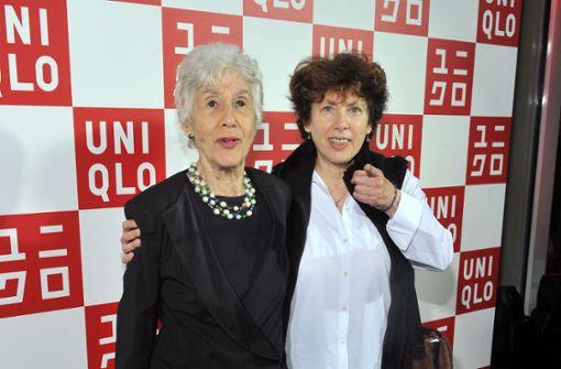 Lorraine Gordon (links) 2013 mit ihrer Tochter Deborah, die das Village Vanguard übernehmen wird. Foto: AFP