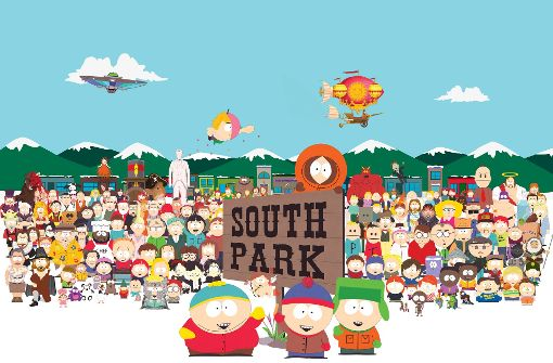 "Das Personal von ""South Park"" Foto: Comedy Central"