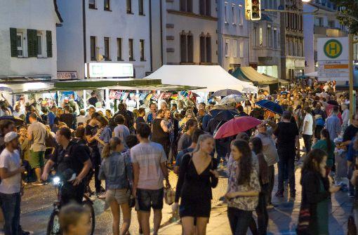 Die Lange Ost-Nacht mit Tausenden von Besuchern jedes Jahr ... Foto: Lichtgut/Julian Rettig
