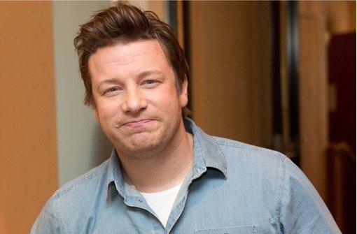 Star-Koch Jamie Oliver setzt sich für eine gesündere Ernährung ein Foto: dpa