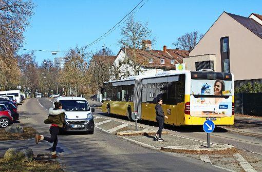 Albstraße gilt als gefährlich für Schulkinder