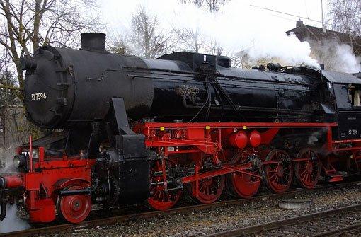 Auf der Fahrt von Hausach nach Triberg ist unter anderem die 52 7596 mit von der Partie. Foto: Leserfotograf tiffy