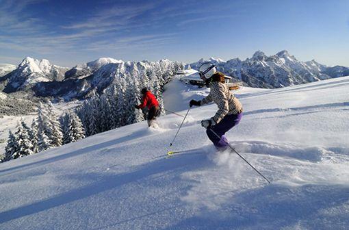 Skifahren in Europas schönstem Hochtal