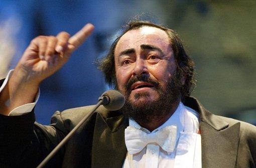 Pavarotti passte in keinen Sessel