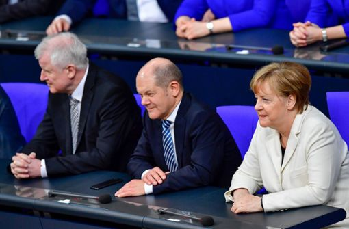 Als Deutschland wieder eine echte Regierung bekam