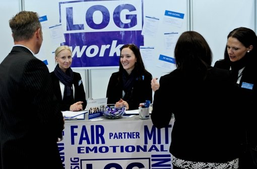 Bewerbung direkt auf der Jobmesse