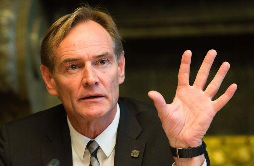 Oberbürgermeister Jung fordert mehr Polizei