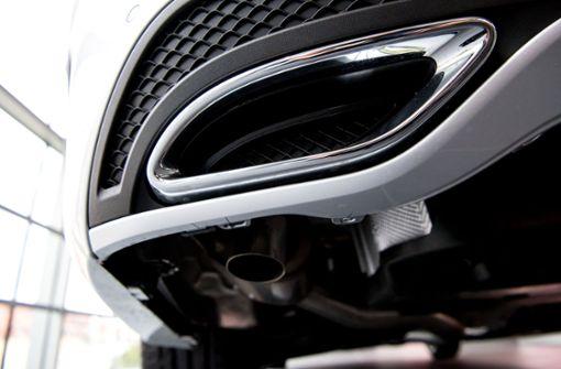 Daimler stoppt Auslieferung mehrerer Diesel-Modelle