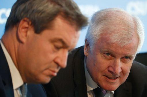 """Spitze der CSU-Landesgruppe warnt vor """"personellen Schnellschüssen"""""""