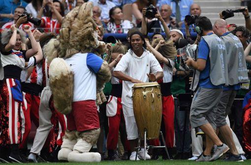 """""""Ronaldinho spielt die Bongo, Will Smith rappt – dieses WM-Finale ist ein LSD-Trip"""""""