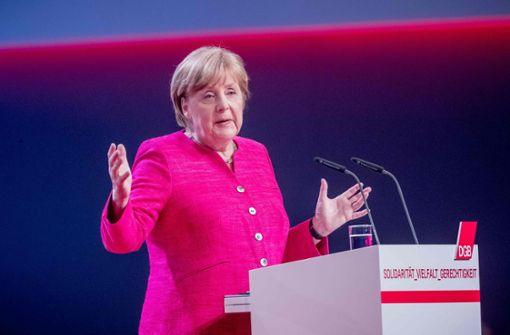 """Merkel will  keine """"digitalen Tagelöhner"""""""