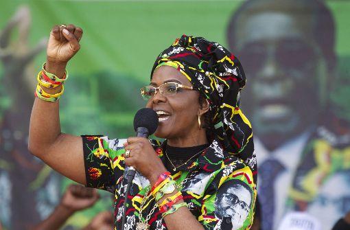 Grace Mugabe soll Model blutig geschlagen haben
