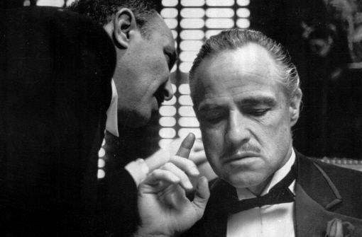 Ein Angebot, dass man nicht ausschlagen kann - die Mafia im Film: Marlon Brando als Der Pate Foto: AP