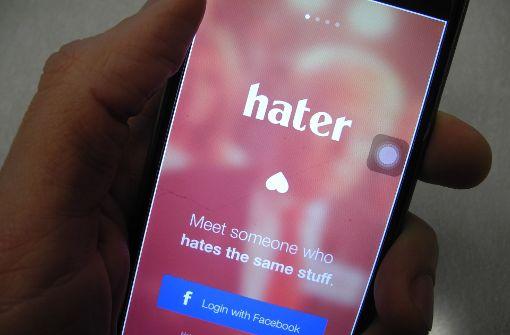 """""""Hater"""" verkuppelt auf Grundlage von Hass"""