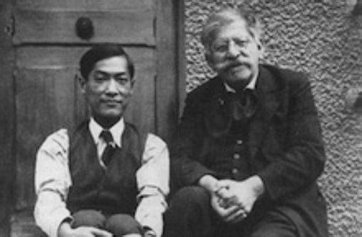Magnus Hirschfeld und sein Lebensgefährte Tao Li, um 1930 Foto: Hirschfeld-Gesellschaft