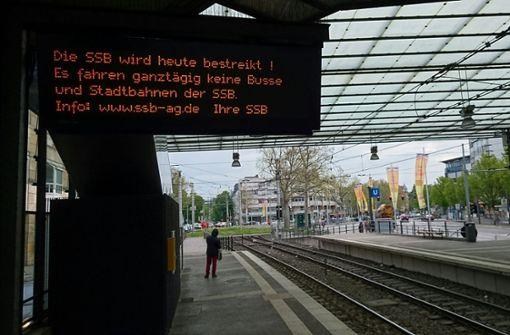 Ssb Ag verdi warnstreik bei der ssb busse und stadtbahnen stehen in