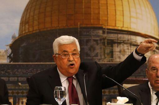 Abbas gibt Juden Schuld an Holocaust