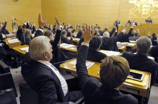 Die Opposition konnte sich schließlich nicht mit ihrem Antrag durchsetzen. Foto: dpa