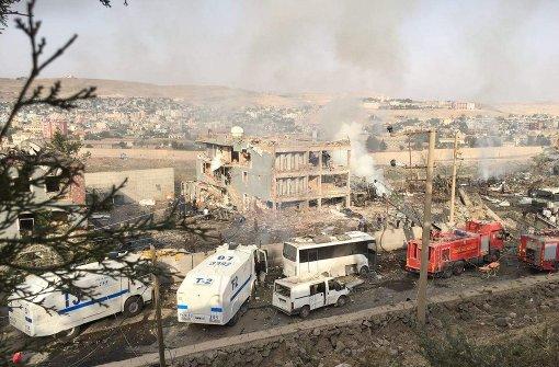 Bei einem Anschlag in der Türkei sind mehrere Menschen verletzt worden. Foto: AFP