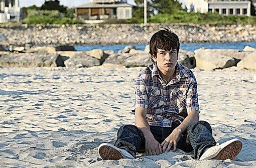 Liam James als schüchterner Duncan in einer Szene von Ganz weit hinten. Foto: Fox Deutschland