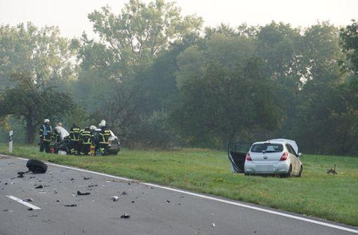 Unfall bei Bad Boll fordert vier Verletzte