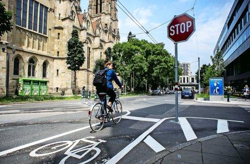 Ärgernis für Radfahrer wird wieder beseitigt