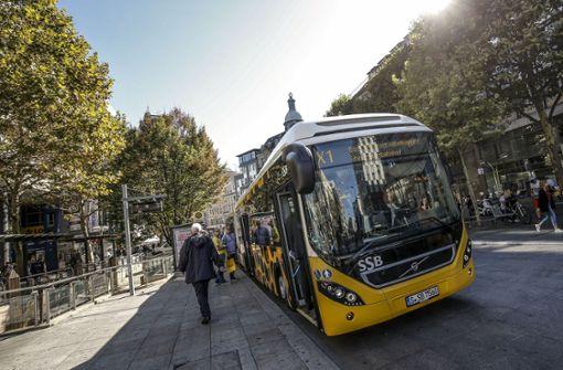 Die neuen Hybrid-Busse im Gepardendesign gehen am Montag an den Start. Foto: Lichtgut/Leif Piechowski