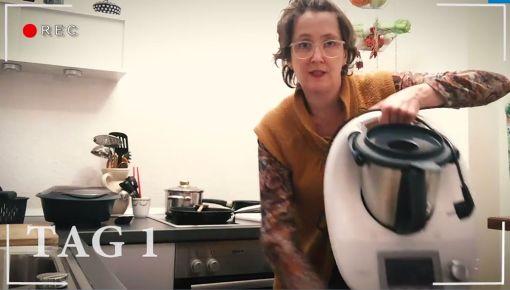 Redakteurin Lisa Welzhofer hat den Thermomix 10 Tage lang getestet. Foto: Screenshot