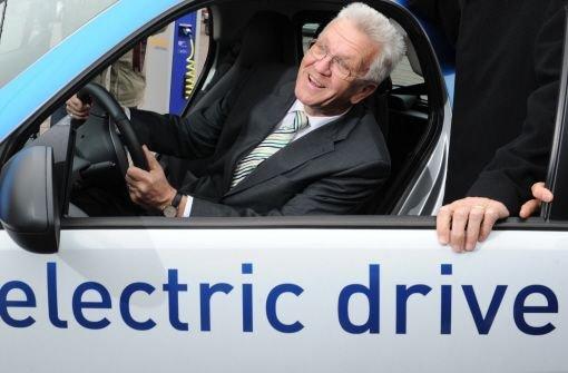 Mit Karte ans Steuer des Elektro-Smarts