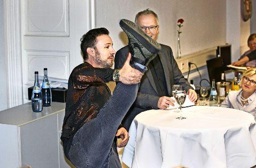 Der mit den Lesern tanzt
